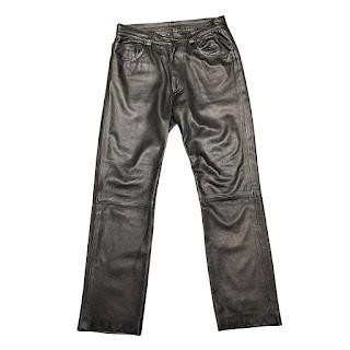 Dolce & Gabbana Leather 5-Pocket Pants