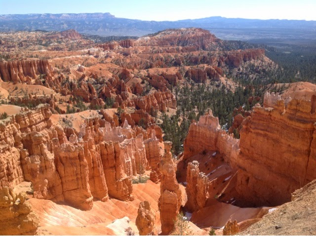 View from Sunset Point Bryce Canyon