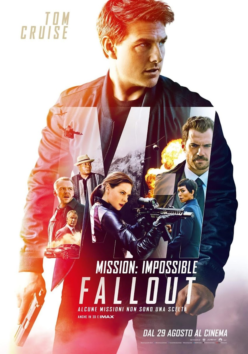 Mission Impossible Fallout dal 29 agosto al cinema!