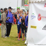 OIC - ENTSIMAGES.COM - Jenni Falconer at the Virgin London Marathon 2015 in London 26th April 2015  Photo Mobis Photos/OIC 0203 174 1069