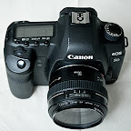 Canon 5D Mk II mit EF 50mm 1:1.4