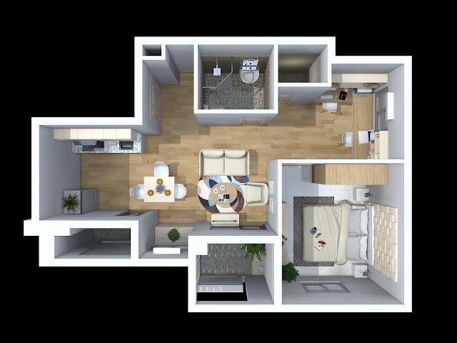 căn hộ A2 chung cư TDH Phước Long