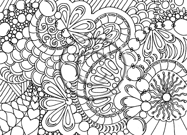 Coloring Pages For Adult To Print With Coloring Pages Adults Printable  Patterns Advanced Pages