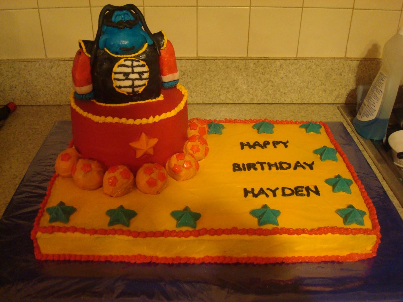 My Loveleigh Life Dragon Ball Z Birthday