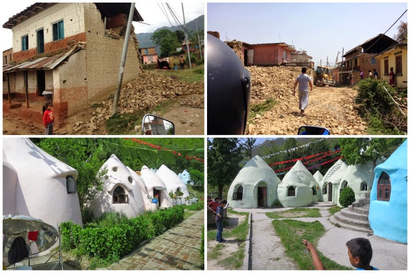 The Climate War Room: Superadobe/Earthbag Orphanage Withstands Nepal on