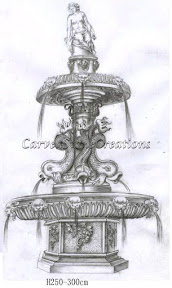 carved stone, Estate, Fountain, Ideas, Natural Stone, Statuary, Statues, Tiered