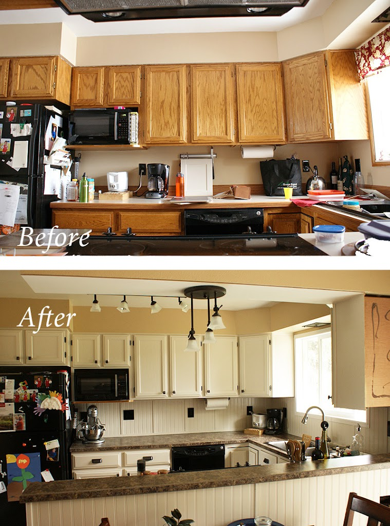 Kitchen Remodel On A Budget my cheap, diy kitchen remodel