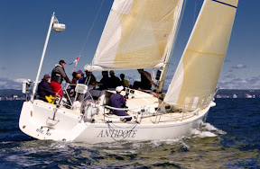 J/133 Antidote sailing AYC Fall on Long Island sound