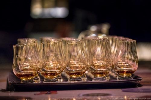scotch whisky experience edinburgh tasting glasses