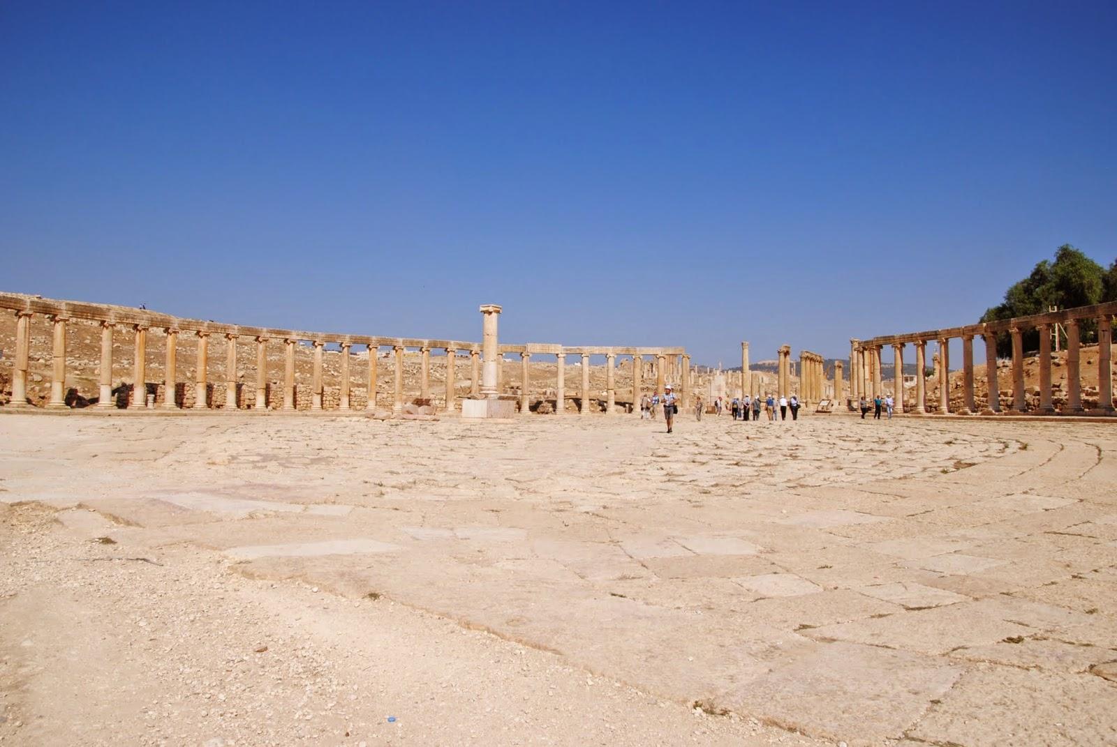My Photos: Jordan -- Jerash -- The Roman Forum