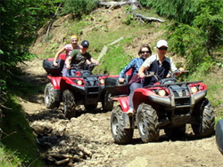 ATV trips in the Carpathians