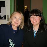 Secretary Hillary Clinton and Arlene, Board member, Nuuk May 2011.JPG