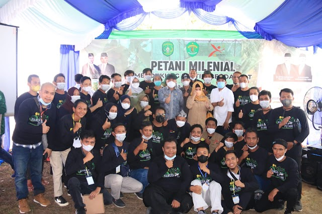 BPPSDMP Gelar Pelatihan bagi Petani Milenial Kalimantan Timur, Mentan: Kita Rubah Mindset Anak Muda melalui Pertanian