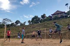 Pemuda Terasa Sinjai Sulap Lahan Persawahan Warga Jadi Arena Sepak Takraw