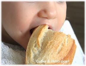 pain pour bébé quand comment