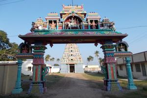 Thiruppariyalur (Parasallur) Temple Entrance Arch