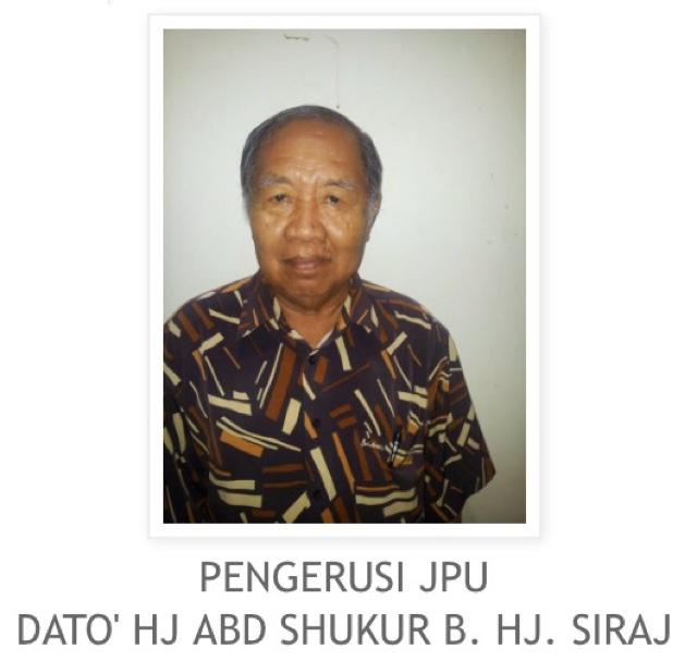Datuk Abdul Shukur Hj Siraj Served As A One Term Tanjong Karang MP And Two Sungai Burong Assemblyman Hardcore Supporter For Barisan National Since