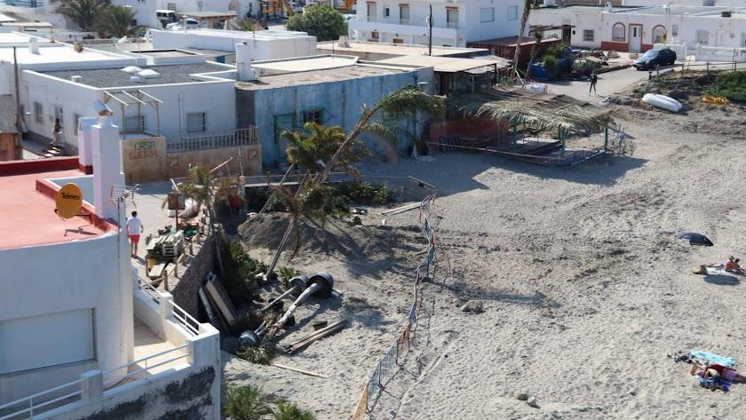 La transformación de la Isleta del Moro para 'Terminator 6'