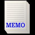 すごくシンプルなメモ帳 icon