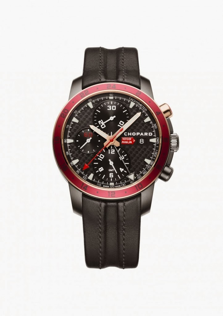 Chopard Mille Miglia Zagato Chronograph 18kt Rose Gold and DLC Stainless Steel 1