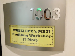 UWEEI EPC's MBTI Profiling Workshop