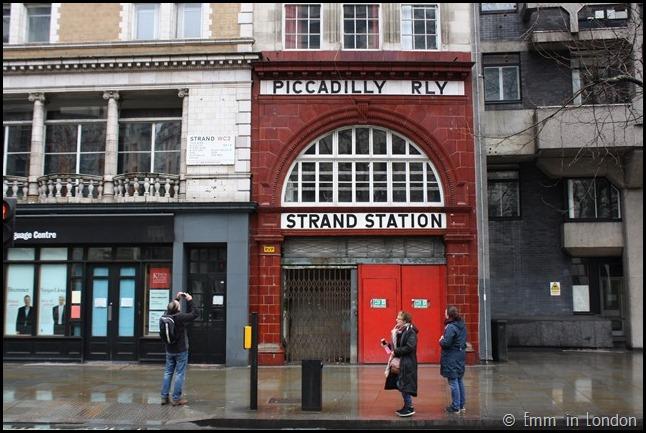 Strand Aldwych Station