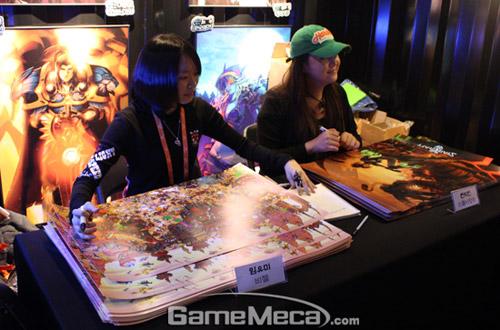 Gstar 2011: Toàn cảnh gian hàng Blizzard Entertainment 20