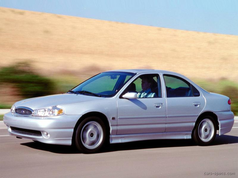 2000 Ford Contour Svt Sedan Specifications Pictures Prices