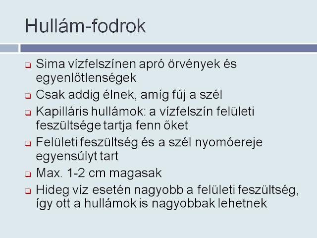 Hullám-fodrok