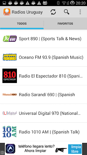 Radios Uruguay FM