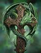 The Green Dragon Cross