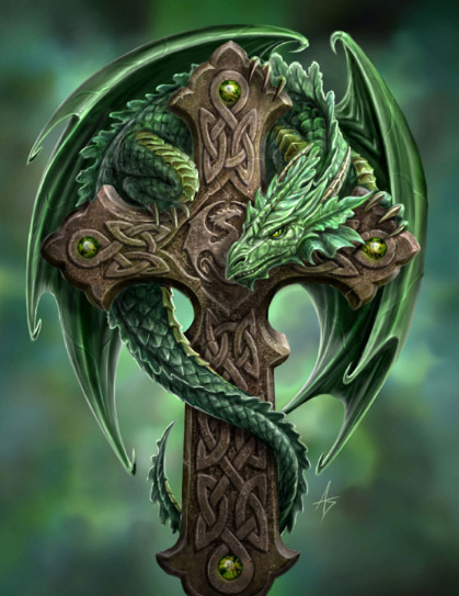 The Green Dragon Cross, Green Witches