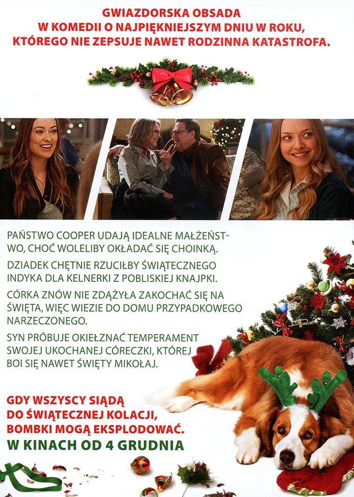 Ulotka filmu 'Kochajmy Się Od Święta (tył)'
