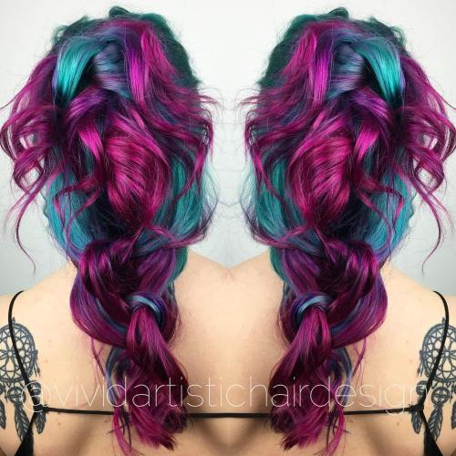 The Best Unboring Styles with Magenta Hair Color By Professional 2017 3