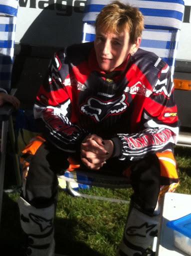 Even rusten tijdens de snertrace 2012 Vledderveen