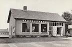 Hagestein.  Raiffeisenbank - Spaarbank.  Gelopen gestempeld in 1966.