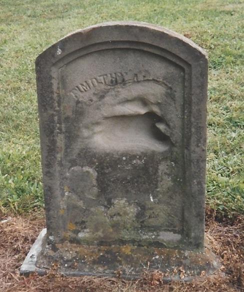 Alden Timothy tombstone