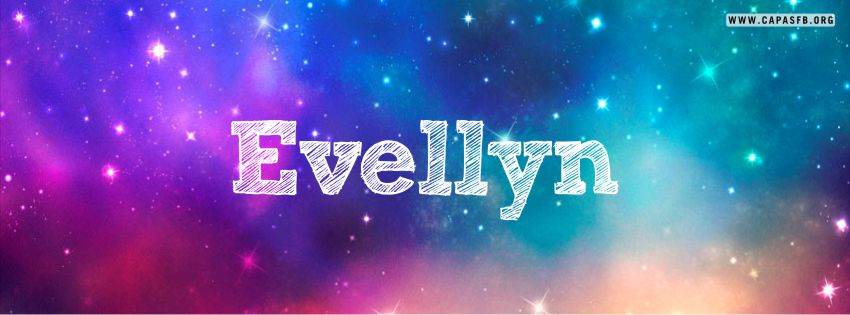 Capas para Facebook Evellyn