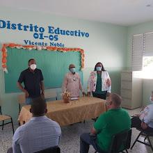 """VICENTE NOBLE: Distrito 01-05 designa nueva técnica de """"Atención a la diversidad"""" para estudiantes especiales."""