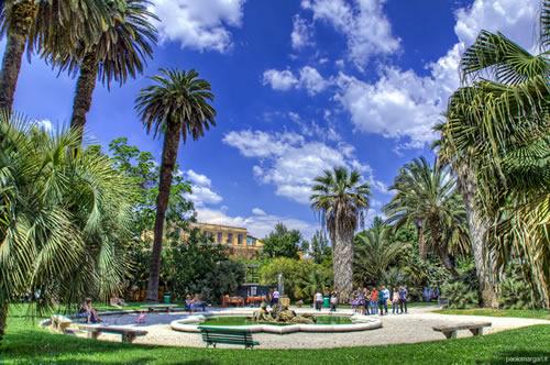 Fiori piante e giardini del mondo un orto botanico nel for O giardino di pulcinella roma