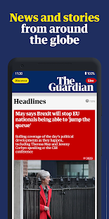 The Guardian - World news, Sport and Finance Screenshot