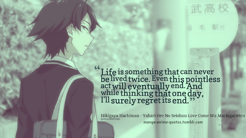 Anime Quotes That Make You Think