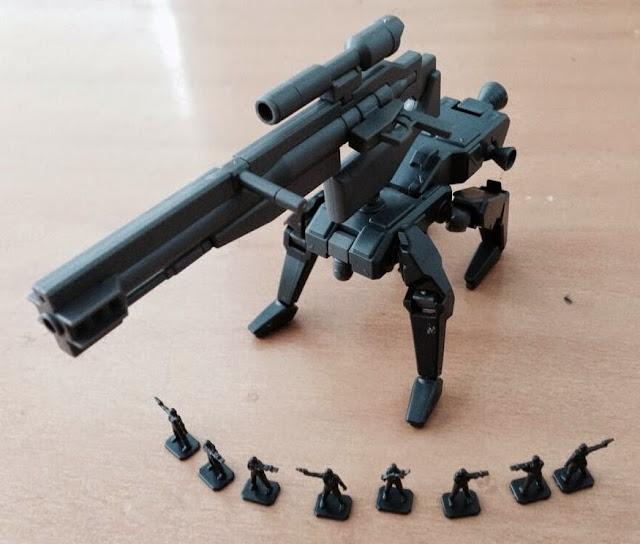 Vũ khí Gundam HG Build Custom 009 K9 Dog Pack tỷ lệ 1/144