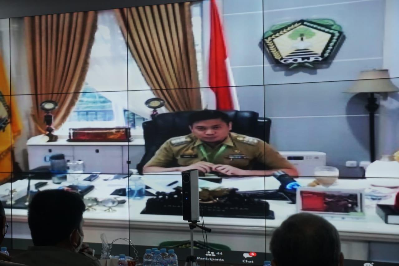 Perkuat Penanganan Covid-19 di Sulsel, Bupati Adnan Usulkan Kabupaten/Kota Terapkan Perda Wajib Masker