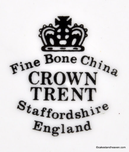Crown Trent backstamp