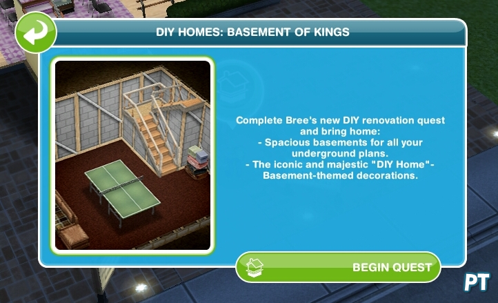 Sims FreePlay basements