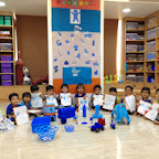 Blue Day in Nursery Class at Witty World