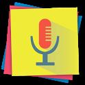 Voice notes - quick recording of ideas icon