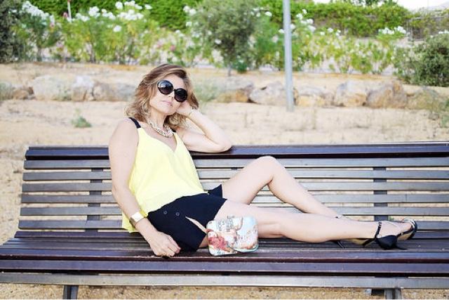 Short negro para tu outfit de verano