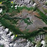 La vallée d'Ak-Tru dans les Monts Yuzhno-Chuiskij